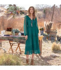sundance catalog women's adore moi dress in pacific 2xl