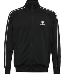 hmlarne zip jacket sweat-shirt tröja svart hummel