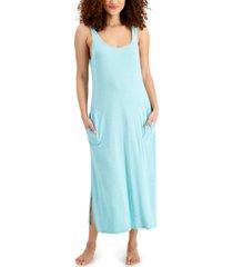 alfani ultra-soft maxi tank nightgown, created for macy's