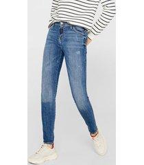 jeans skinny medium rise celeste esprit