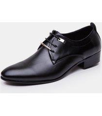 acentuó los zapatos casuales masculinos planos de oxford zapatos hombre