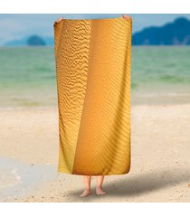 charming-desert-scenery-3d-beach-throws-round-85x200cm-rectangle-tapestry-wall-h