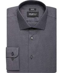awearness kenneth cole navy dot slim fit dress shirt