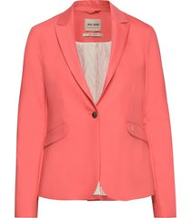 blake night blazer sustainable blazer roze mos mosh