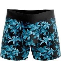 cueca boxer goup supply floral - masculino
