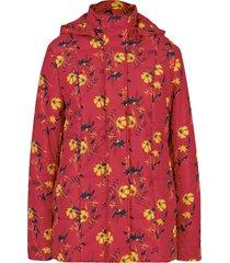giacca trapuntata fantasia con cappuccio rimovibile (rosso) - bpc bonprix collection