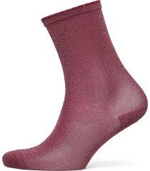 hosiery footies träningssockor/ankle socks röd noa noa