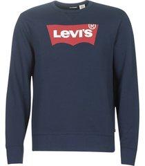 sweater levis graphic crew b