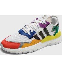 zapatilla urbana nite jogger pride multicolor adidas originals