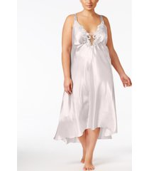 flora by flora nikrooz plus size satin stella nightgown