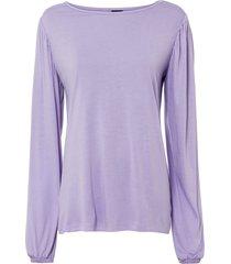 maglia con maniche a palloncino (viola) - bodyflirt