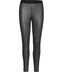 coated milano legging leggings svart calvin klein jeans