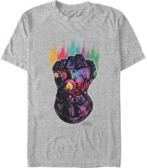 marvel men's avengers infinity war galaxy gauntlet, short sleeve t-shirt