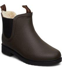 chelsea classic winter w regnstövlar skor brun tretorn