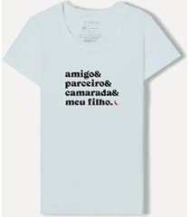 camiseta & && dm20 fem camarada filho reserva - masculino