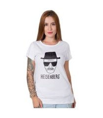 camiseta  stoned heisenberg branco