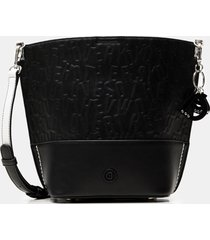crossbody bag reliefs - black - u