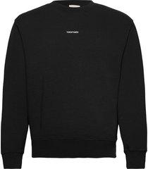 simba mo photoprint destinee sweatshirt print dos sweat-shirt tröja svart zadig & voltaire