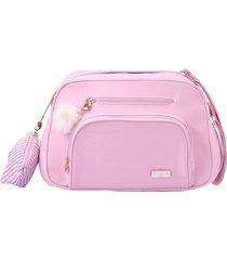 bolsa maternidade pequena pirulitando nina rosa