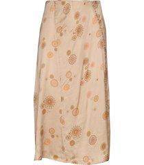 praise this skirt knälång kjol beige odd molly
