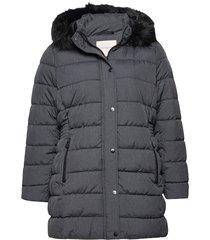 carluna quilted coat otw fodrad jacka grå only carmakoma
