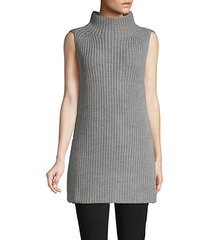 wool turtleneck tunic