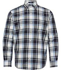d2. pp twill check hugger bd overhemd casual wit gant