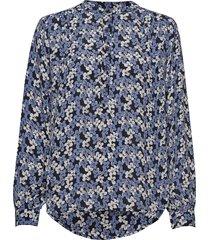betty shirt blouse lange mouwen blauw nué notes