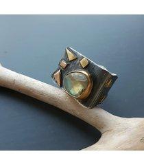 modern- pierścionek