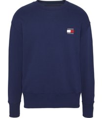 buzo tommy badge crew azul tommy jeans