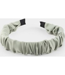 laurel gathered headband - sage
