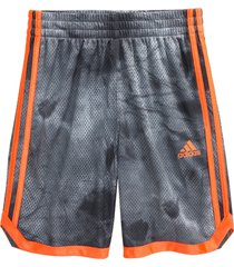 boy's adidas kids' y tie dye mesh shorts (big boy)