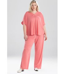 congo dolman pajamas / sleepwear / loungewear set, women's, plus size, purple, size 3x, n natori