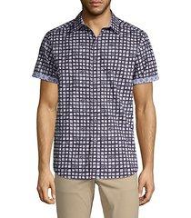 hedden sketch square sport shirt
