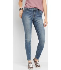 maurices womens denimflex™ medium wash high rise jegging blue