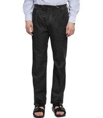 massimo alba black ionio2 trousers