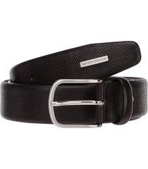 emporio armani logo belt