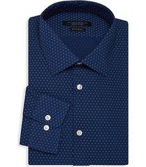 spencer regular-fit print dress shirt