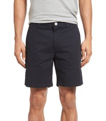 bonobos stretch washed chino 7-inch shorts, size 34 in jet blues at nordstrom