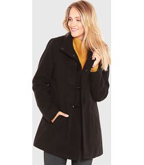 abrigo wados montgomery negro - calce regular