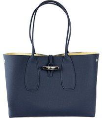 roseau leather shoulder bag