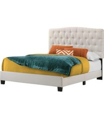 belle isle furniture cape coral upholstered bed, queen