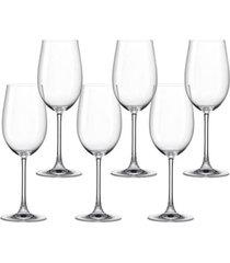conjunto de taças com 6 peças para vinho branco magnum 440ml spicy