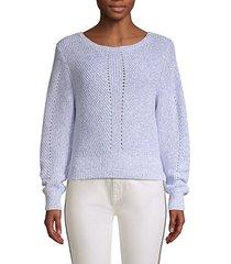 verlene cotton & cashmere sweater