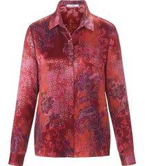 blouse met lange mouwen van peter hahn multicolour
