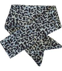 lenço para cabelo bag dreams animal print azul