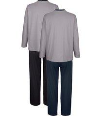 pyjamas babista marinblå::svart