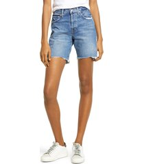 edwin cai nonstretch cutoff denim shorts, size 27 in maui at nordstrom