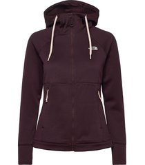 w hikest midlay-sg hoodie trui bruin the north face