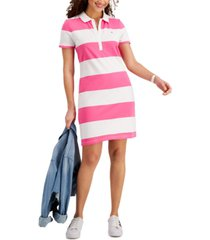 tommy hilfiger rugby polo dress